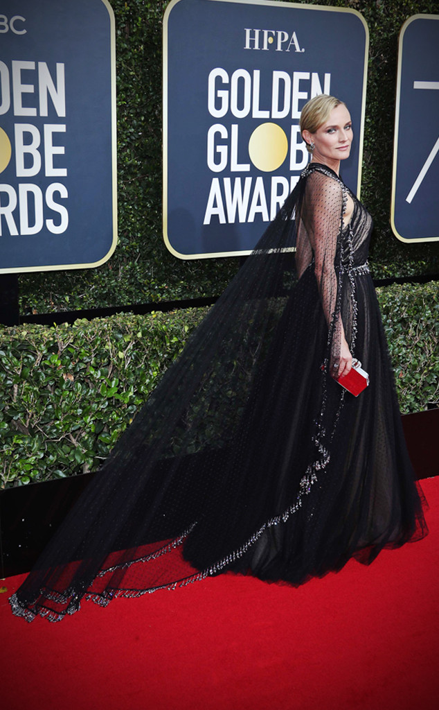 ESC: Diane Kruger, Golden Globe Awards 2018