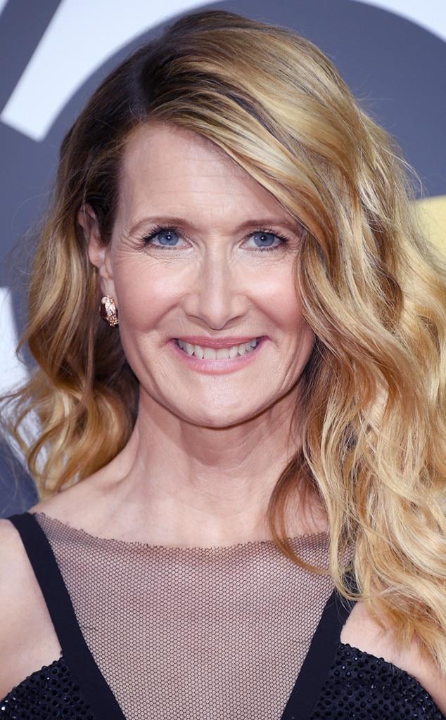 ESC: Beauty Tips, Golden Globe Awards 2018, Laura Dern
