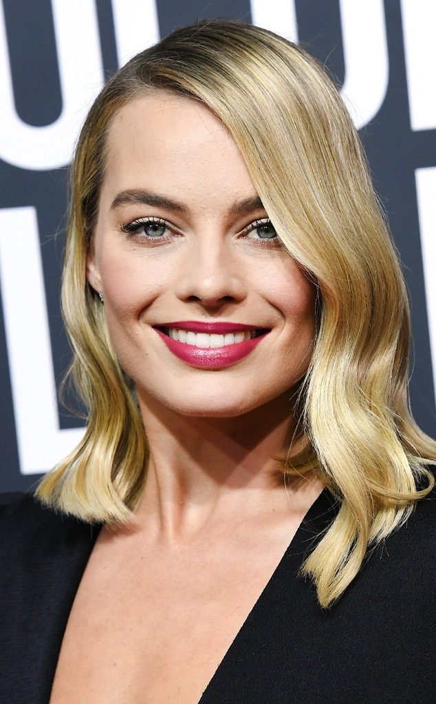 ESC: Beauty, Golden Globe Awards 2018, Margot Robbie