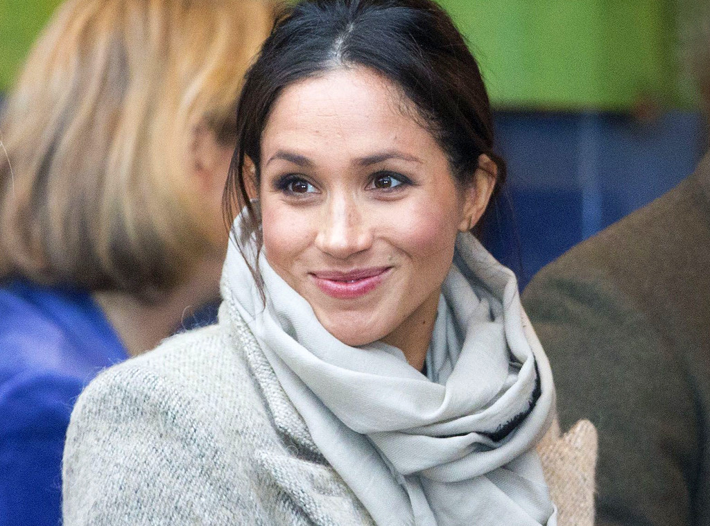 Prince Harry And Meghan >> How Meghan Markle Bent the Royal Fashion Rules With Her First Official Outfit of 2018 | E! News