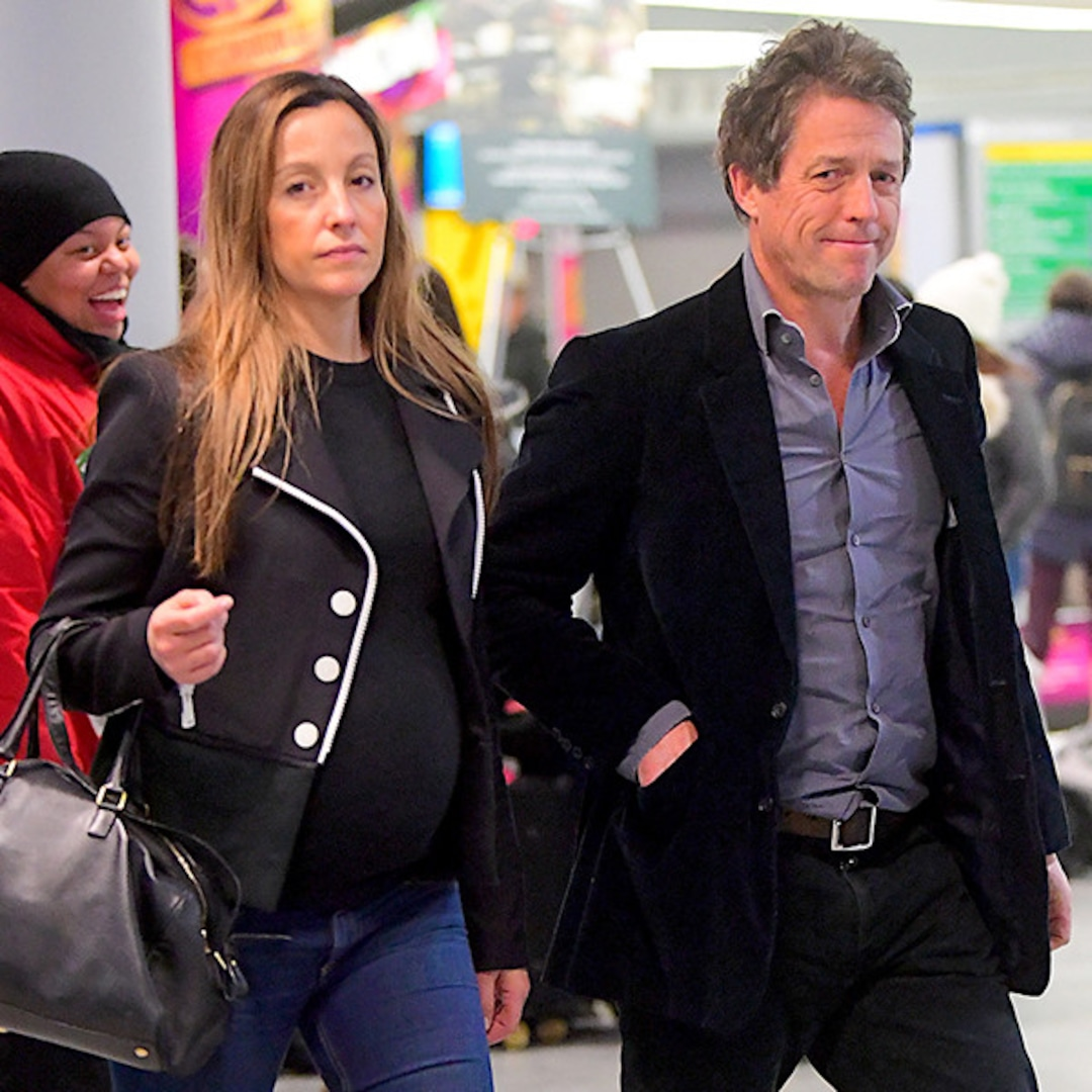 Hugh Grant Is Going To Be A Dad Of Five E Online Au