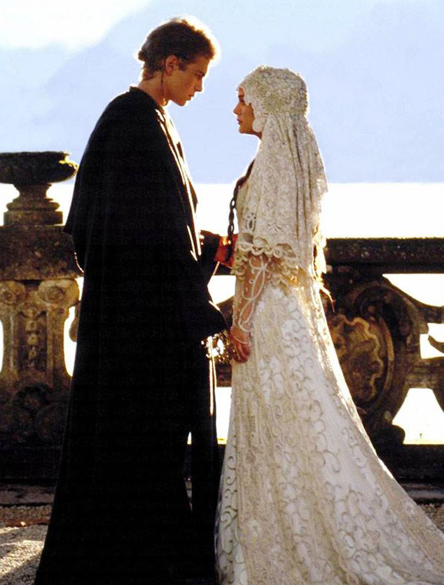 ESC: Movie Wedding Dresses, Star Wars, Natalie Portman