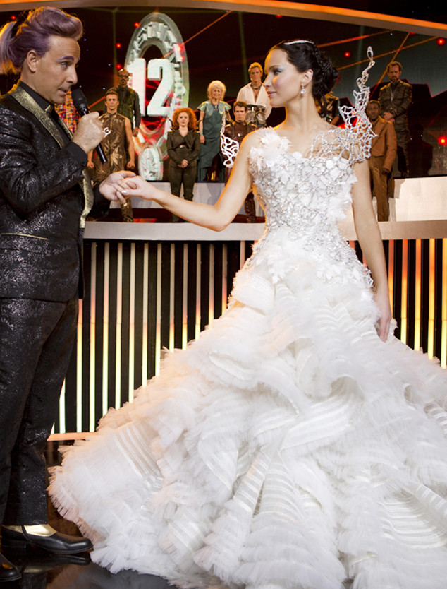 ESC: Movie Wedding Gowns The Hunger Games: Catching Fire, Jennifer Lawrence