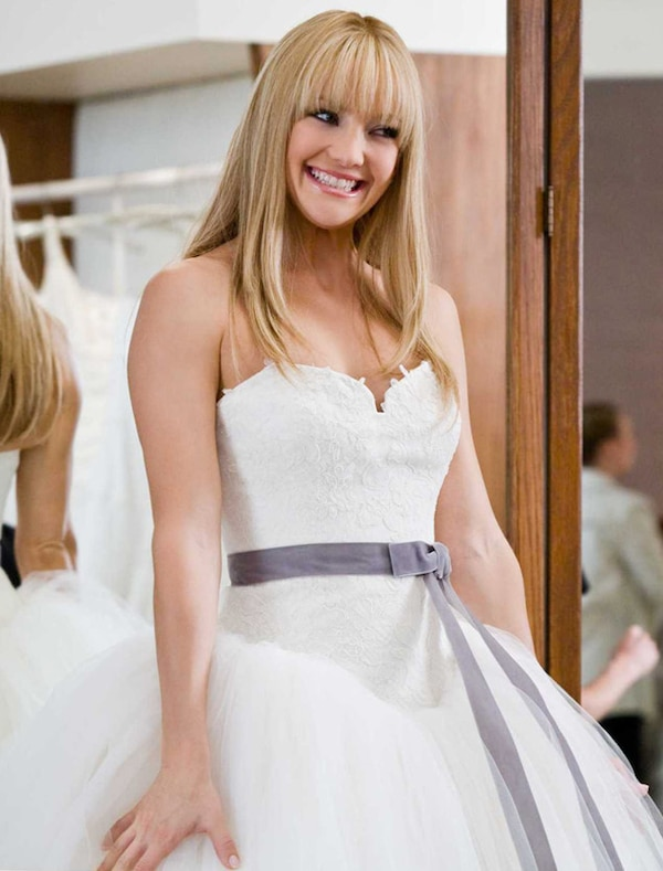 bride wars from best movie wedding dresses of all time e