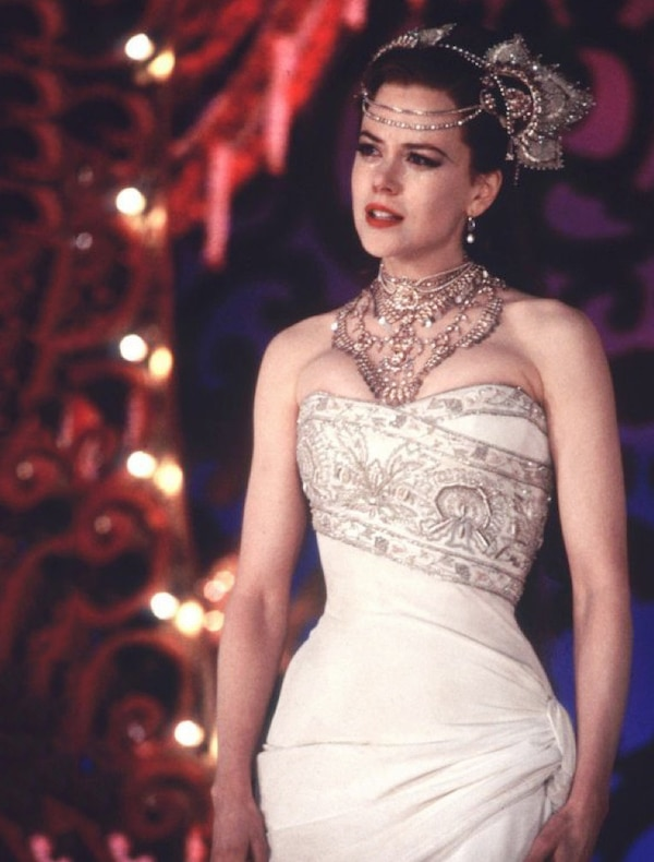 moulin rouge from best movie wedding dresses of all time