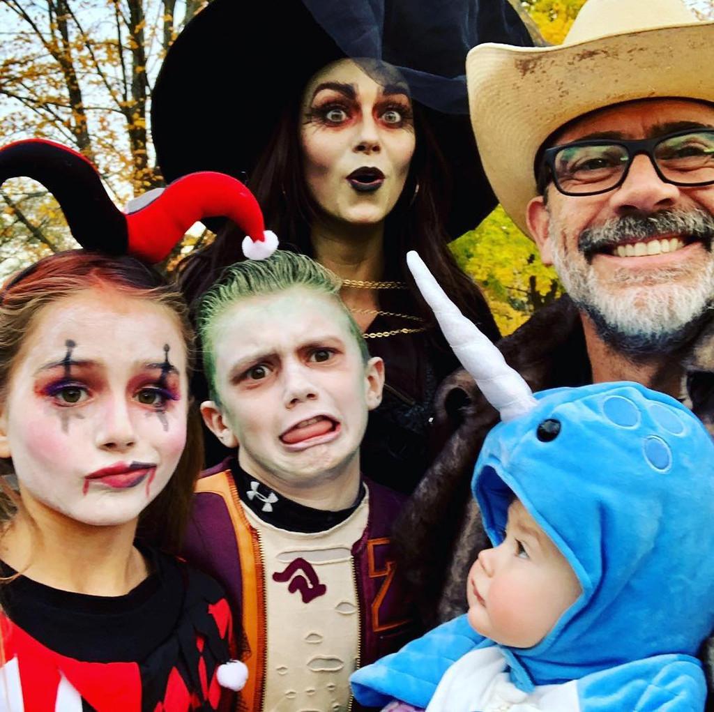 Hilarie Burton, Jeffrey Dean Morgan, Halloween 2018