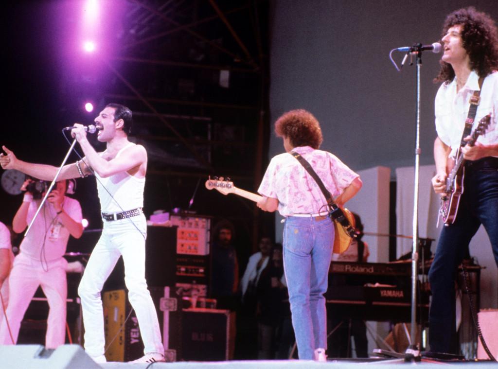 Queen, Freddie Mercury, Live Aid