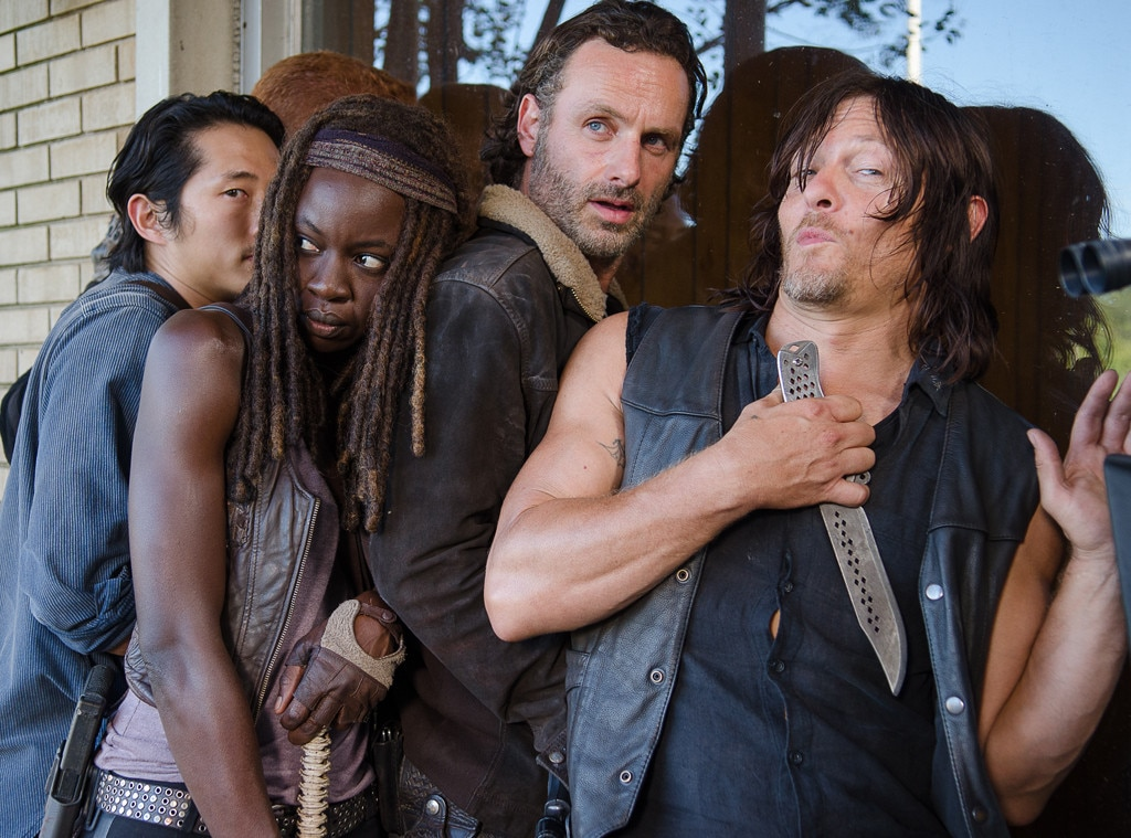 Watch The Walking Dead Cast's Farewell Messages to Andrew Lincoln