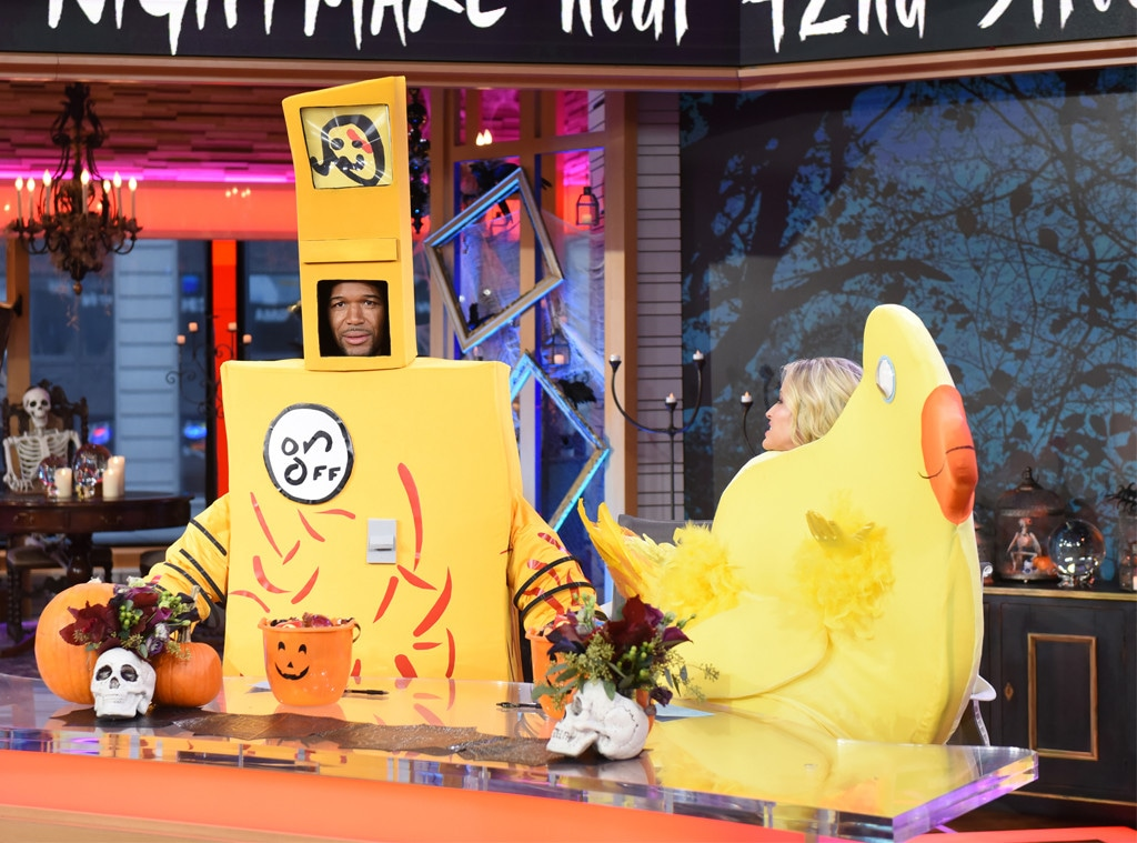 Michael Strahan, Sara Haines, GMA Day, Halloween 2018