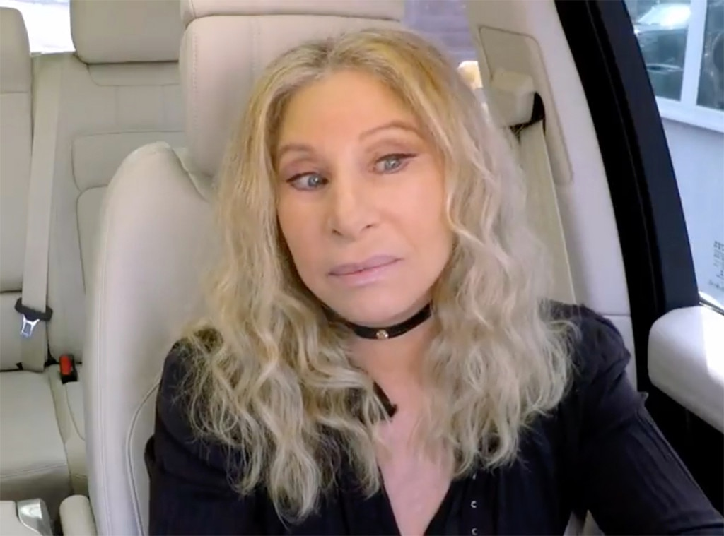 A Terrified James Corden Lets Barbra Streisand Drive During 'Carpool Karaoke'