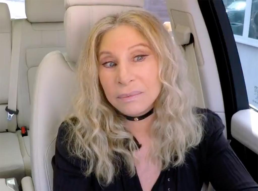 """Barbra Streisand Confusedly """"Sings"""" Cardi B with James Corden on Carpool Karaoke"""
