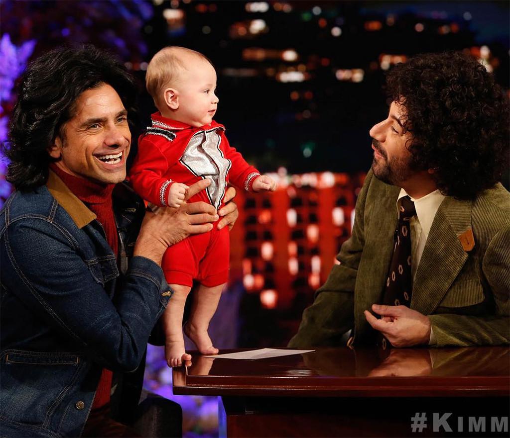 John Stamos, Son, Billy, Jimmy Kimmel