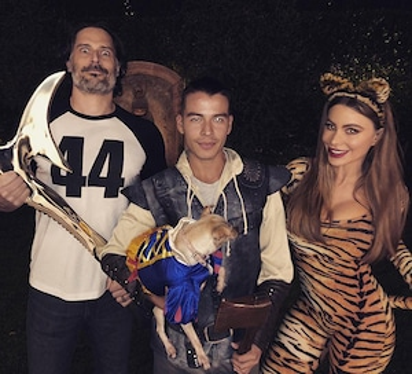 Joe Manganiello, Manolo Gonzalez Vergara, Sofia Vergara, Halloween 2018