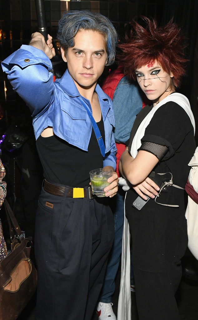 Dylan Sprouse, Barbara Palvin, Heidi Klums Annual Halloween Party