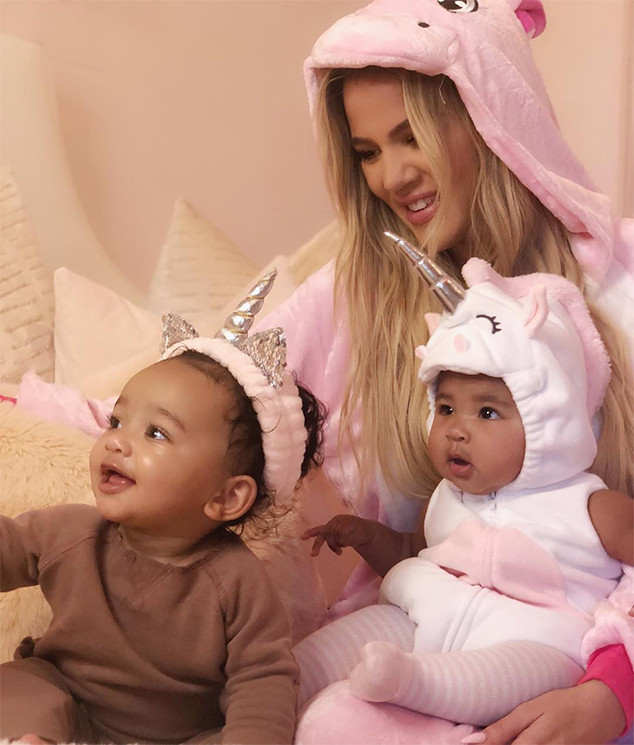 Khloe Kardashian, Daughter, True Thompson, Chicago West, Halloween 2018