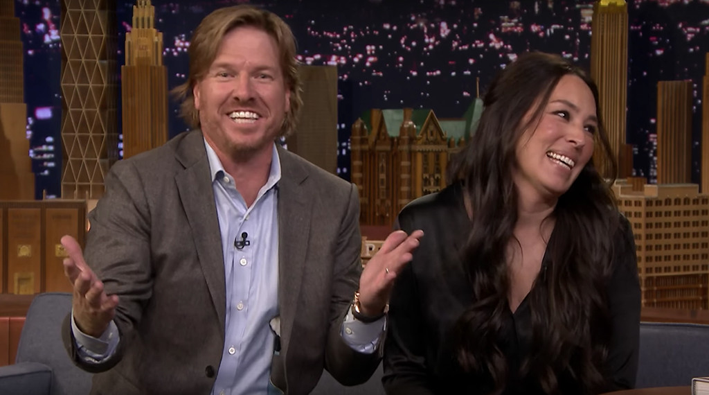 Chip Gaines Joanna Tonight Show