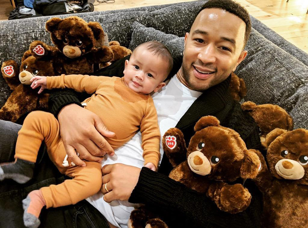 John Legend, Miles, Instagram