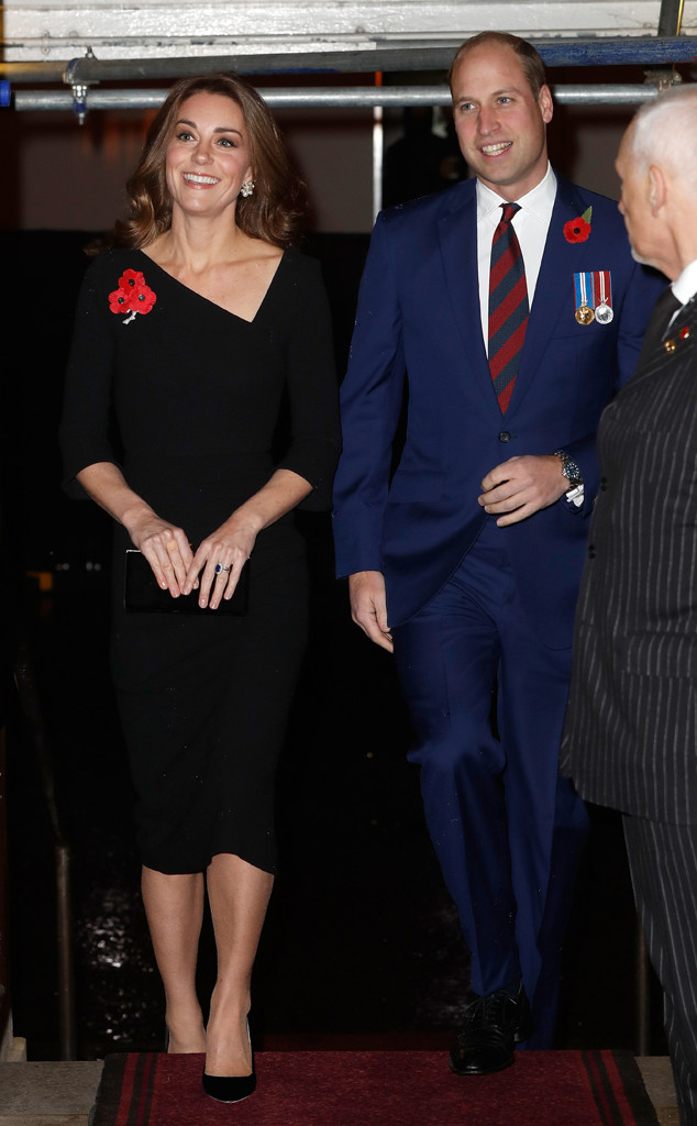 Prince William, Kate Middleton, Festival of Remembrance