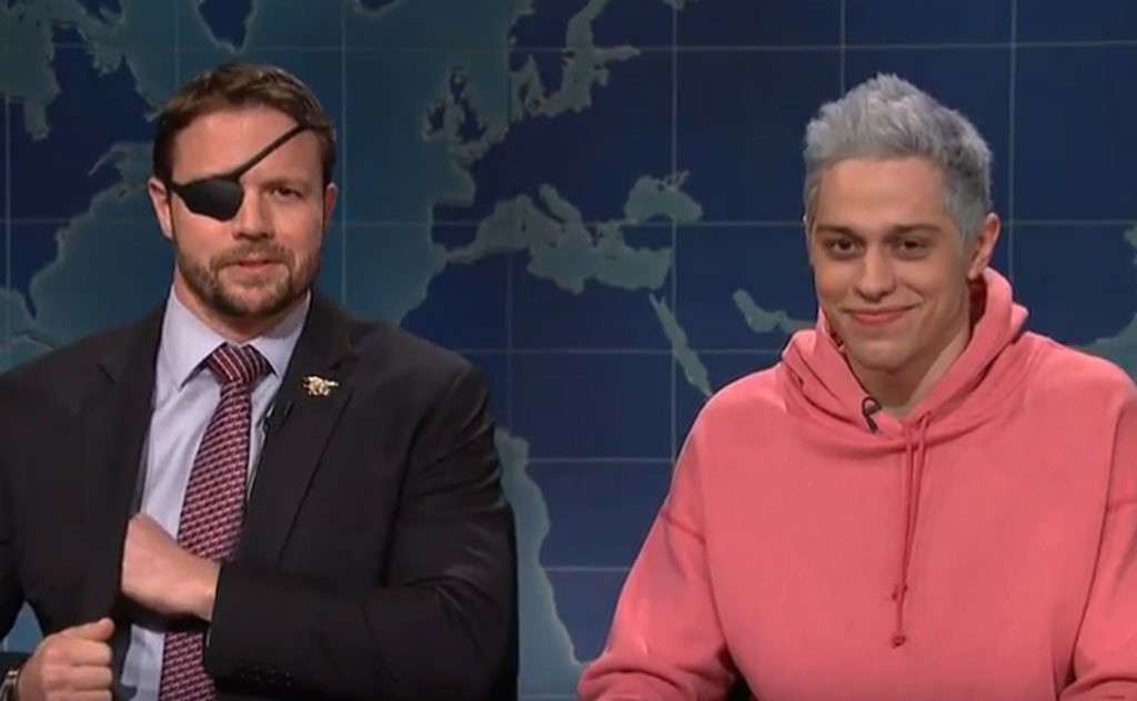 Dan Crenshaw Trolls Pete Davidson On Snl With Ariana Grande Ringtone