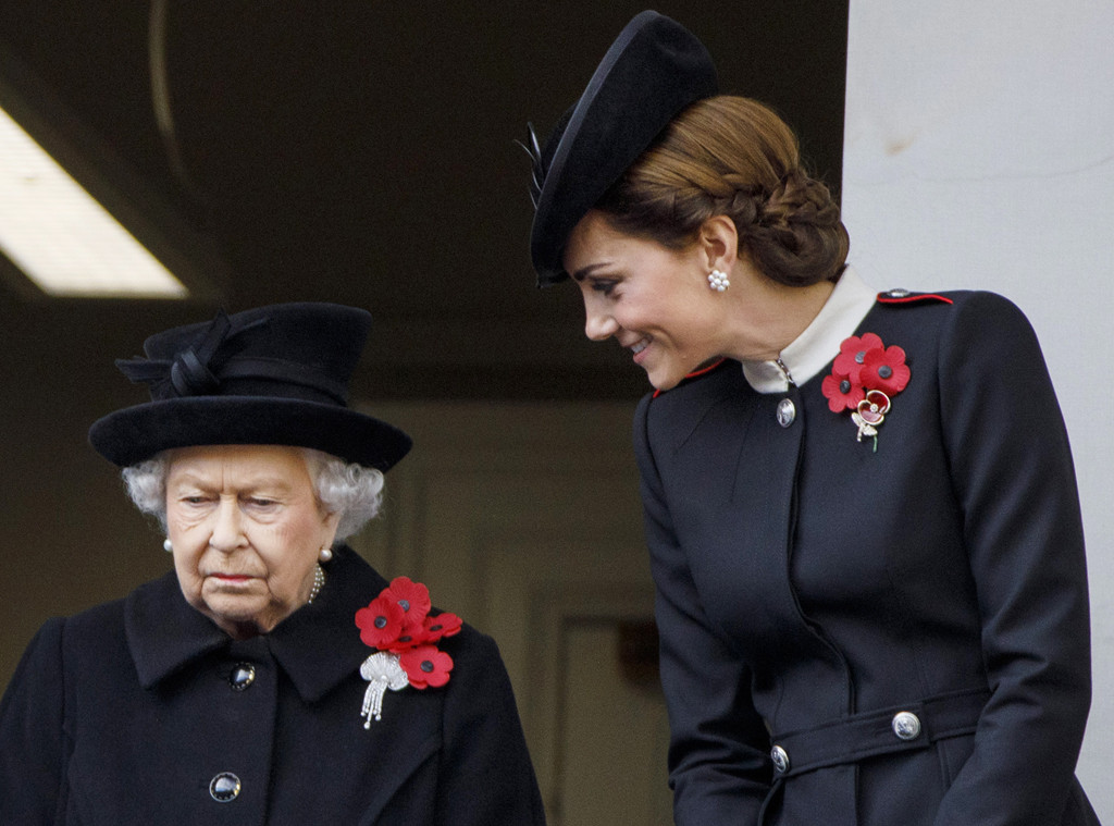 Queen Elizabeth, Kate Middleton, Remembrance Day
