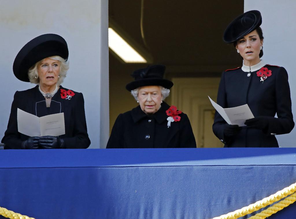 Camilla, Queen Elizaebth, Kate Middleton