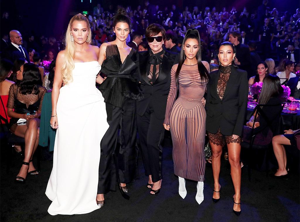 Khloe Kardashian, Kendall Jenner, Kris Jenner, Kim Kardashian, Kourthney Kardashian