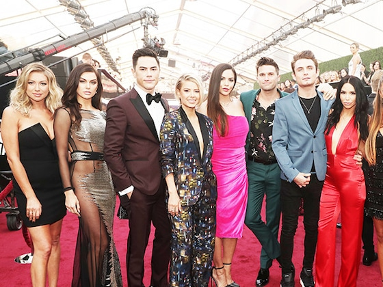 Here's Proof the <i>Vanderpump Rules</i> Cast Is Living Their Best Life at the People's Choice Awards