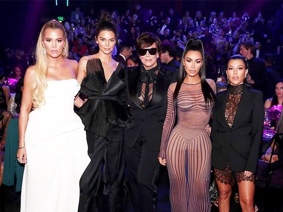Kim, Kourtney y Khloé Kardashian le rinden un gran tributo a su padre Rob Kardashian