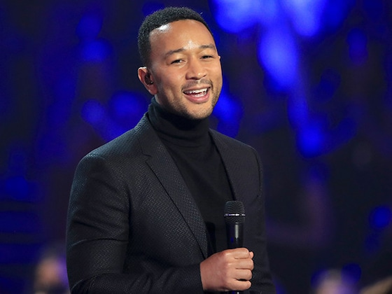 John Legend Earns a Standing Ovation After a Moving Performance of <i>This</i> U2 Classic at the PCAs