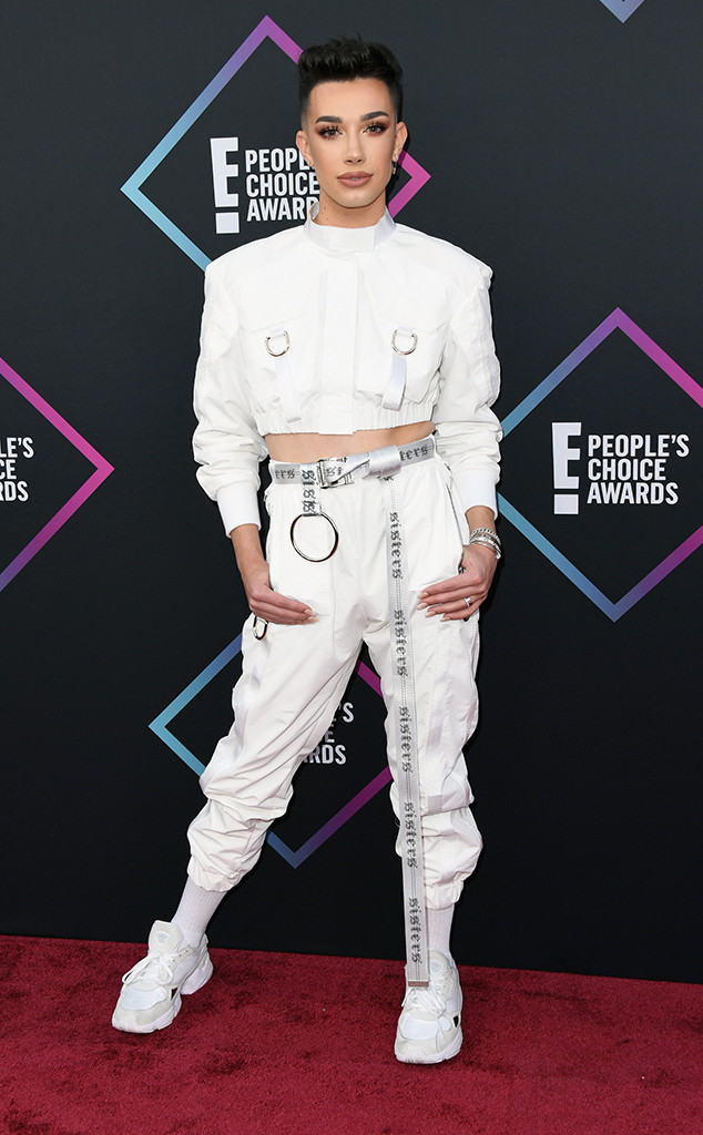 James Charles, 2018 Peoples Choice Awards, PCAs, Red Carpet Fashions
