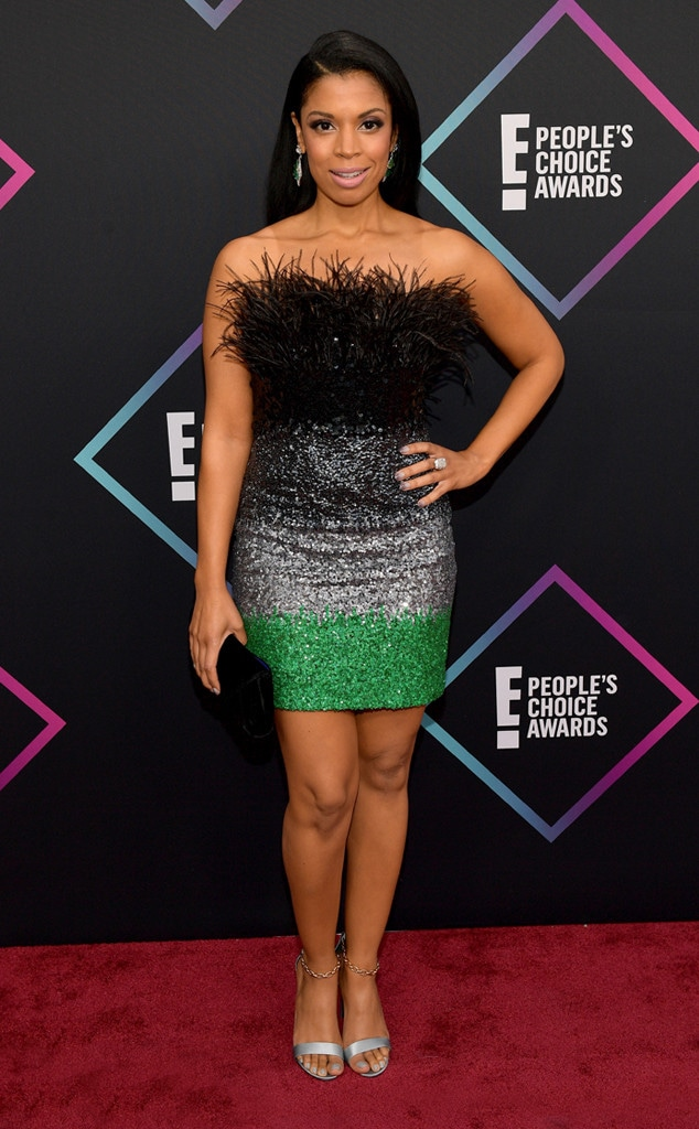 Susan Kelechi Watson, 2018 Peoples Choice Awards, PCAs, Red Carpet Fashions