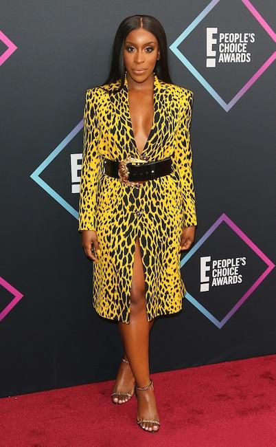 Jackie Aina, 2018 Peoples Choice Awards, PCAs, Red Carpet Fashions