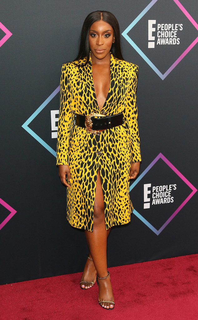 Jackie Aina, 2018 Peoples Choice Awards, PCAs, Red Carpet Fashions