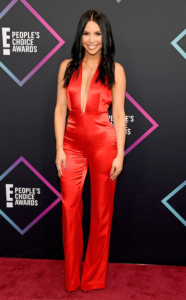 Scheana Marie, 2018 Peoples Choice Awards, PCAs, Red Carpet Fashions