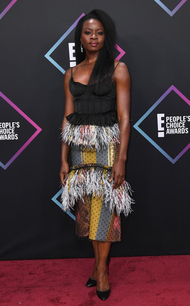 Danai Gurira, 2018 Peoples Choice Awards, PCAs, Red Carpet Fashions