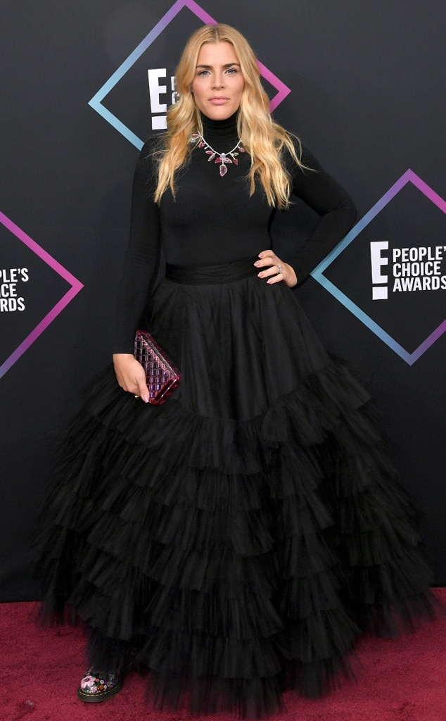 Busy Philipps, 2018 Peoples Choice Awards, PCAs, Red Carpet Fashions