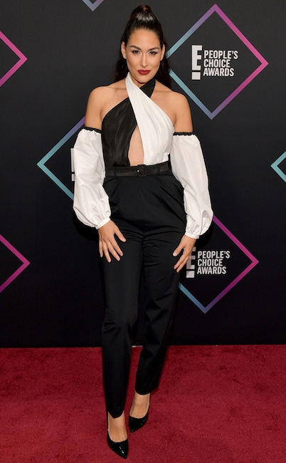 Brie Bella, 2018 Peoples Choice Awards, PCAs, Red Carpet Fashions