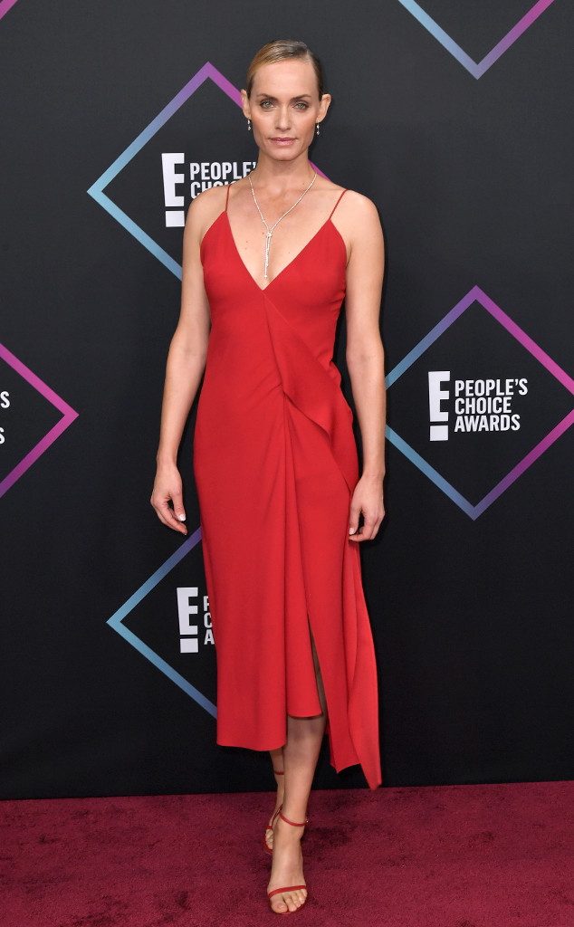 Amber Valletta, 2018 Peoples Choice Awards, PCAs, Red Carpet Fashions