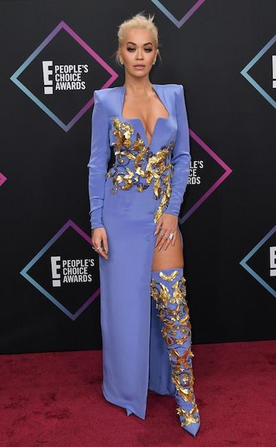 Rita Ora, 2018 Peoples Choice Awards, PCAs, Red Carpet Fashions