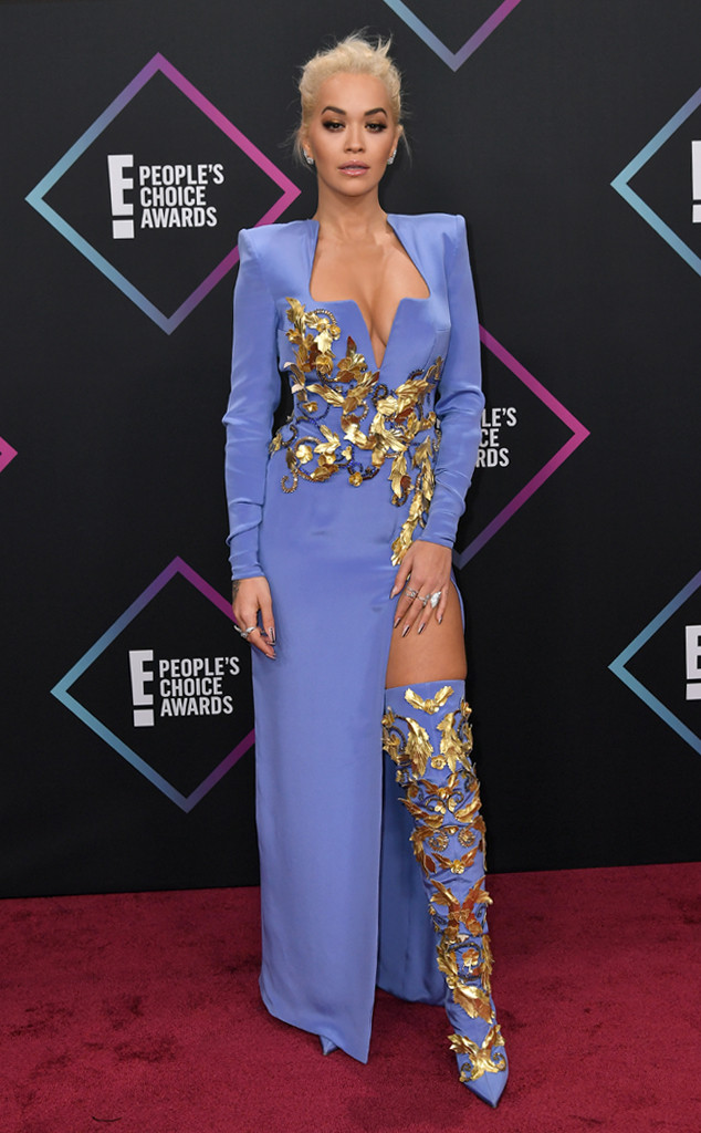 Rita Ora, 2018 Peoples Choice Awards, PCAs, Red Carpet Fashions