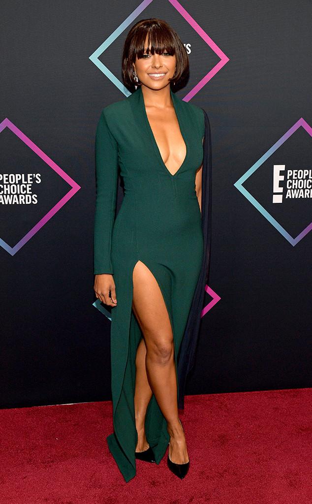 Kat Graham, 2018 People's Choice Awards, PSL, Red Carpet Fashions