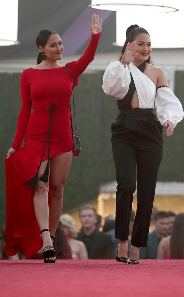 Nikki Bella, Brie Bella, 2018 People's Choice Awards, PCAS