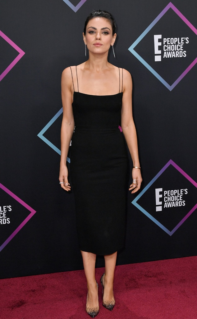 Mila Kunis, 2018 Peoples Choice Awards, PCAs, Red Carpet Fashions