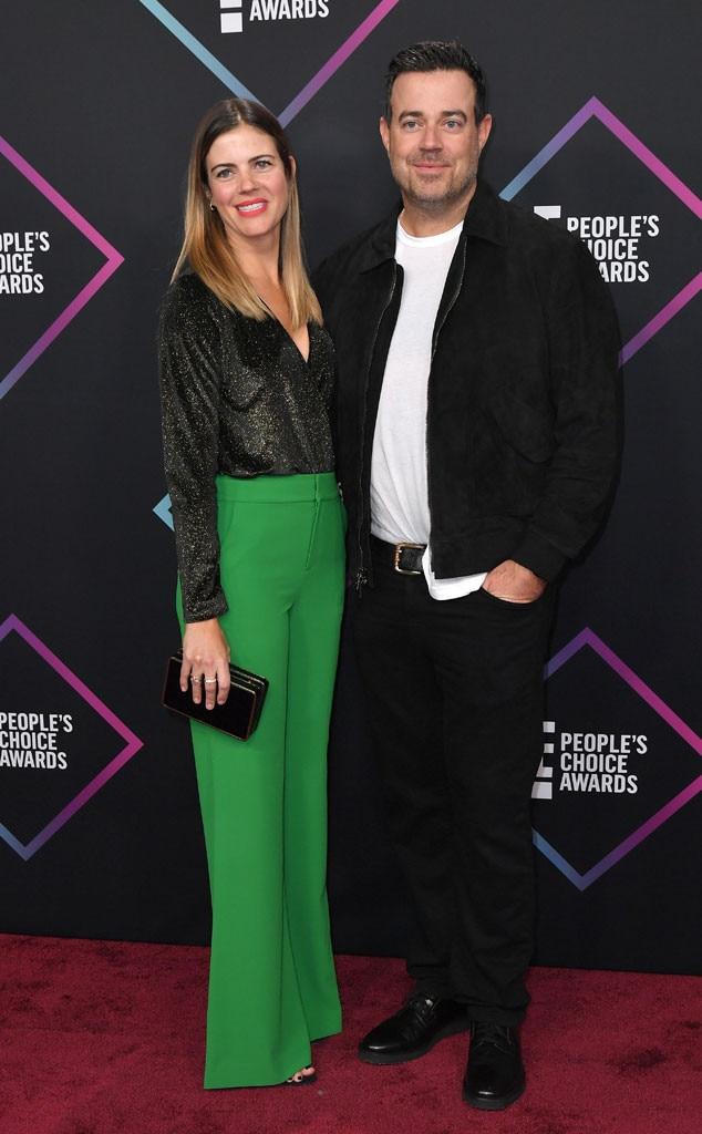 Carson Daly, Siri Pinter, 2018 Peoples Choice Awards, PCAs, Couples