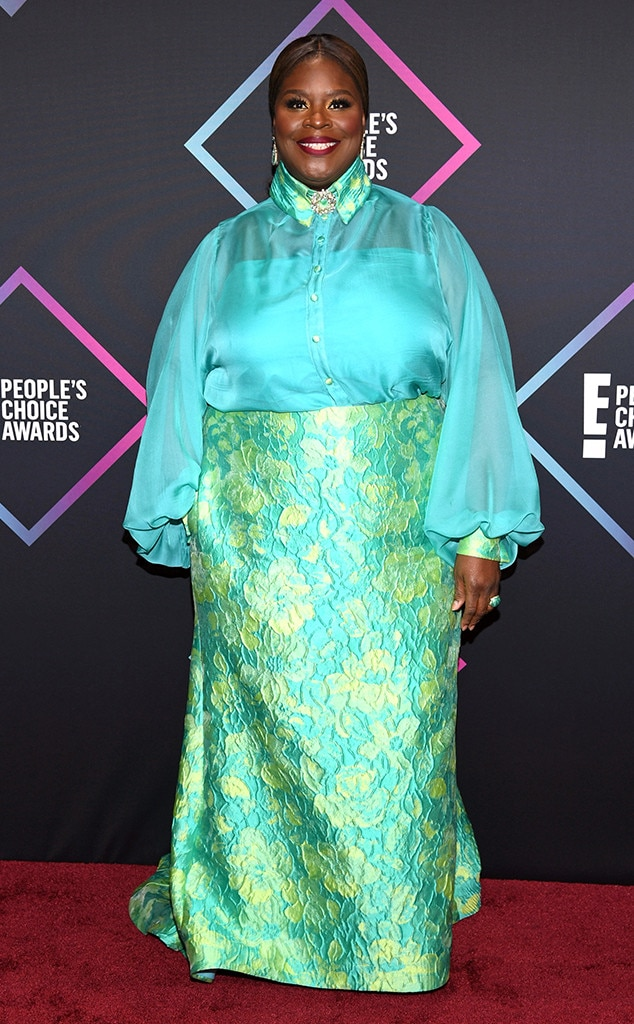 Retta, 2018 Peoples Choice Awards, PCAs, Red Carpet Fashions