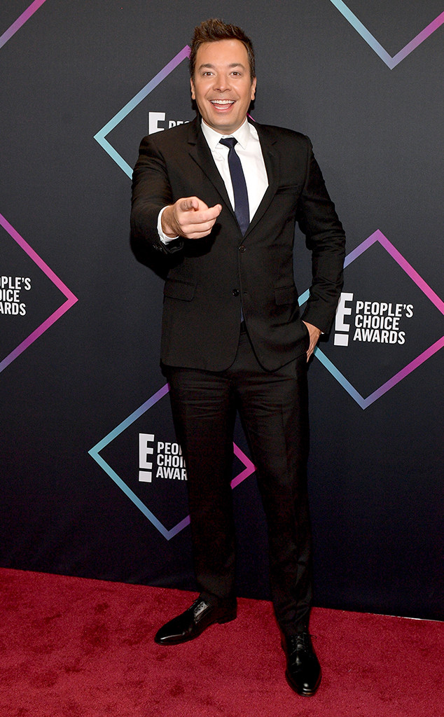 Jimmy Fallon, 2018 Peoples Choice Awards, PCAs, Red Carpet Fashions