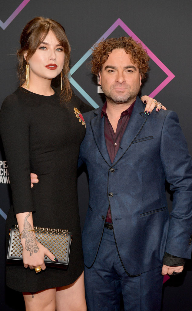 Johnny Galecki, 2018 Peoples Choice Awards, PCAs, Couples