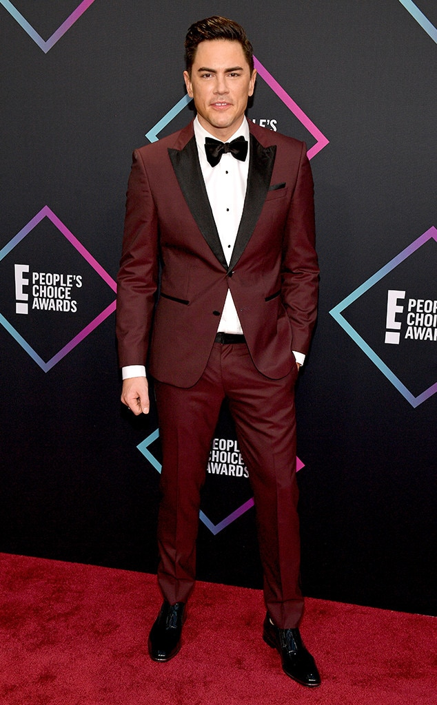 Tom Sandoval, 2018 Peoples Choice Awards, PCAs, Red Carpet Fashions