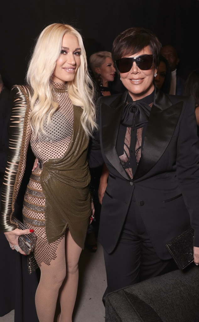 "Gwen Stefani & Kris Jenner -  Does the woman behind huge hits including ""Hollaback Girl"" and ""Rich Girl"" keep up with the Kardashians? This photo may hold the answers."