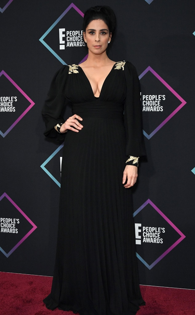 Sarah Silverman, 2018 Peoples Choice Awards, PCAs, Red Carpet Fashions